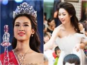 Làng sao - Hoa hậu Mỹ Linh tủi thân vì bị chê xấu, sợ lộ tật... ngủ gật