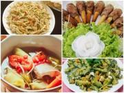 Bếp Eva - Thực đơn chiều Chủ nhật có nhiều món ngon