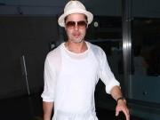 Làng sao - Sau vụ cãi nhau với con trai nuôi, Brad Pitt bị tố tiểu tiện trên đường băng
