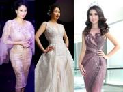 Thời trang - Hoa hậu Hà Kiều Anh, Đỗ Mỹ Linh đẹp