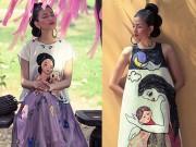 Nín thở vì bà bầu Trương Thị May đẹp như tranh vẽ
