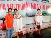 """Trương Thị May bất ngờ xuất hiện tại buổi casting phim """"Hai nửa yêu thương"""""""