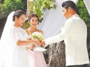 Làng sao - Toàn cảnh đám cưới của mỹ nhân phim