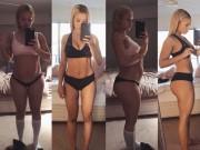Bà bầu - Chiêu giảm cân siêu tốc sau sinh của mẹ 2 con dáng chuẩn hơn siêu mẫu