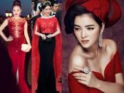 Thời trang - Những chiếc váy đỏ từng gây bão truyền thông của Lý Nhã Kỳ