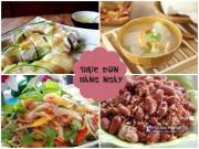 Bếp Eva - Bữa cơm thanh mát cho chiều nóng