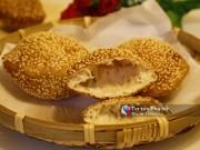 Bếp Eva - Thích mê bánh tiêu vàng ươm, giòn ngon