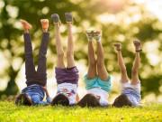 Làm mẹ - Chăm sóc chiều cao cho trẻ: Phải khỏe mới cao