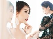 Thời trang - Hoa hậu Lam Cúc đẹp kiêu kỳ với đầm ren