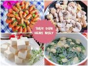 Bếp Eva - Bữa cơm thanh mát và dễ ăn cho chiều nắng