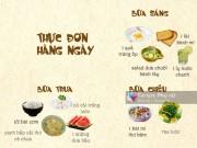 Bếp Eva - Thực đơn giảm cân trong 1 tuần: Ngày 5 - Ăn nhiều chất xơ