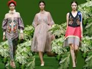 Thời trang - Tuần lễ thời trang Xuân Hè 2017: Mùa đu đủ xanh nơi thị thành tấp nập