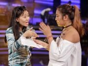 Thu Minh mặt mộc xuất hiện trước đêm Gala Chung kết Vietnam Idol