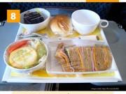 Khám phá bữa ăn của 15 hãng hàng không trên Thế giới