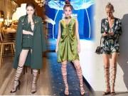 """Thời trang - Sao Việt chân ngắn - dài cỡ nào cũng tự tin đi mốt giày """"bó giò"""""""