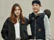 Thời trang - Uyên ương xứ Hàn khoe tình yêu rất khéo!
