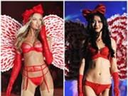 Thời trang - Nội y Victoria's Secret bị nhái trắng trợn trên sàn catwalk