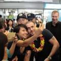 Làng sao - Shayne Ward tươi cười trở tại Hà Nội