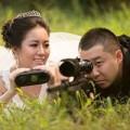 Tình yêu - Giới tính - Cảm động trào lưu chụp ảnh cưới nơi làm việc