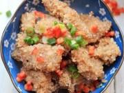 Món ngon - Thịt lợn tẩm bột gạo rang lạ miệng