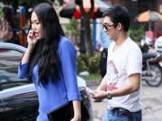 Làng sao - Phi Thanh Vân cùng chồng đi đăng kí kết hôn