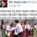 Mỹ phẩm - Phi Thanh Vân bức xúc vì bị lợi dụng tên tuổi