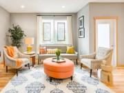 Không gian đẹp - Phòng khách nhỏ 23m2 cho cả nhà quây quần