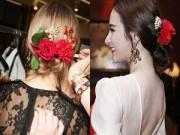 Người mẫu - Trà Ngọc Hằng mặc váy cổ V táo bạo như thiên thần nội y