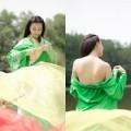 Làng sao - Trà Ngọc Hằng tạo hình cổ trang, tắm suối trong MV mới