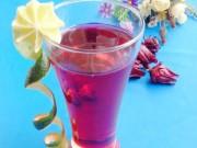 Thực đơn – Công thức - Cách ngâm hoa atiso đỏ làm nước uống