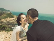Làng sao - Quỳnh Nga - Doãn Tuấn đẹp lung linh trong ảnh cưới
