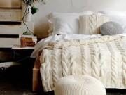 Mẹo vặt gia đình - Biến hóa phòng ngủ ấm áp trong ngày đông giá rét