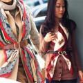 Thời trang - Cách quàng khăn sành điệu nhất thu đông cho nữ công sở