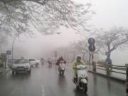 Tin tức - Không khí lạnh tăng cường, Hà Nội mưa rét