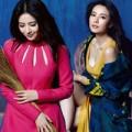 """Thời trang - Mặc đồ thu đông đẹp như """"nữ thần đường phố"""" Hoa ngữ"""