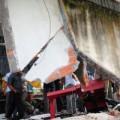 Tin nóng trong ngày - Xưởng sửa xe tan hoang sau vụ nổ bình hơi