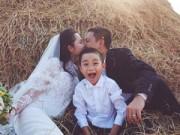"""Làng sao - Kim Hiền: """"Muốn yêu tôi phải chiếm được trái tim con tôi"""""""