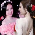 Thời trang Sao - Angela Phương Trinh đẹp như nữ thần với bờm hoa