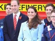 Làng sao - Công nương Kate bụng bầu cùng chồng đi sự kiện