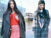 Tư vấn mặc đẹp - 1001 gợi ý hay ho cho nữ sinh viên mê áo khoác dạ