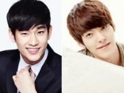 """Hậu trường - Vì tăng cân, Kim Soo Hyun bị Kim Woo Bin """"đánh bại"""""""