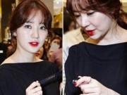 Yoon Eun Hye lộ mặt già nua ngấn mỡ