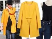 Thời trang - 3 cách mặc áo khoác khiến mọi bà bầu ồ lên thích thú