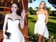 """Thời trang Sao - Váy """"sao chép"""" từ Dior nhan nhản trong showbiz Việt"""