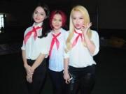 """Làng sao - MiA, Hương Giang Idol quàng khăn đỏ """"hồi teen"""""""