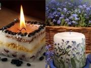 Nhà đẹp - 3 bước đơn giản làm nến hoa lãng mạn cho tân hôn hòa hợp