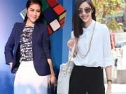 """Thời trang - Sao Việt cá tính lạ mắt với mốt váy """"2 trong 1"""""""