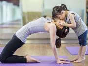 Làm mẹ - Bộ ảnh yoga tuyệt đẹp của bé gái Hà Nội với mẹ