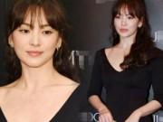 Làng sao - Song Hye Kyo tự tin khoe vòng 1 phẳng lỳ