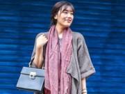 Mặc đẹp mỗi ngày - Áo khoác len dáng dài: Thước đo cá tính của phái đẹp
